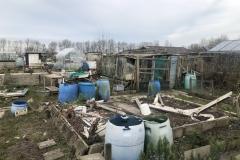 Oude tuin wordt opgeruimd